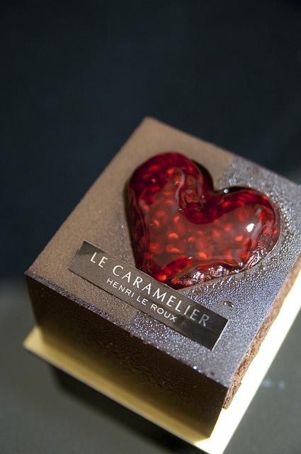 Mission d'Amour, Henri Le Roux chocolate heart delight patisserie