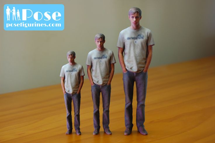 Pose Figurines are available in 10cm, 12cm, 15cm in fact any size you desire up to 36cm!