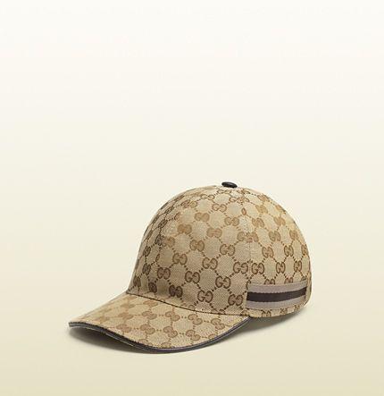 sombrero de béisbol con loneta original GG