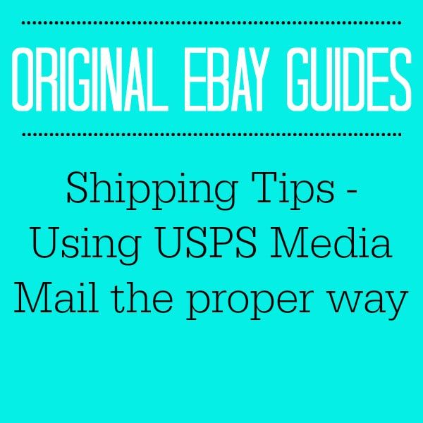 Shipping Tips - Using USPS Media Mail The Proper Way