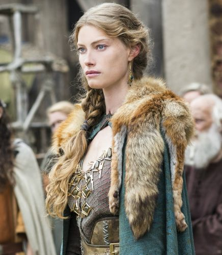 She has the hard features I think a Viking Princess might have had. Yes I admire her beauty