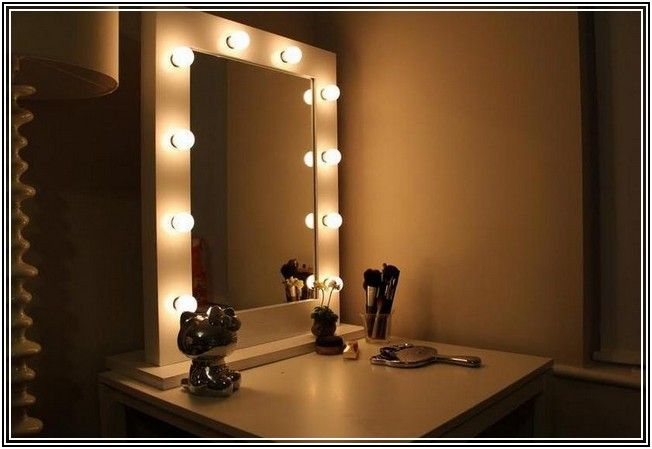 the 25 best mirror with light bulbs ideas on pinterest diy makeup mirror with light bulbs. Black Bedroom Furniture Sets. Home Design Ideas