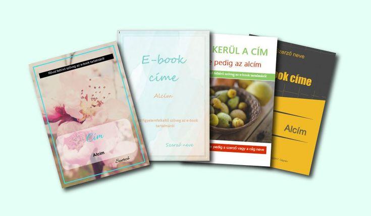 Ajándék e-book sablonok