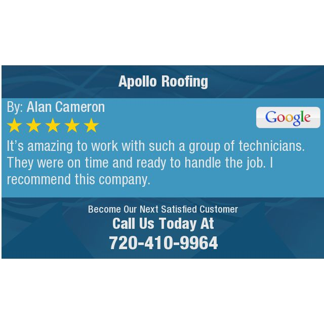 It's amazing to work with such a group of technicians.  They were on time and ready to...
