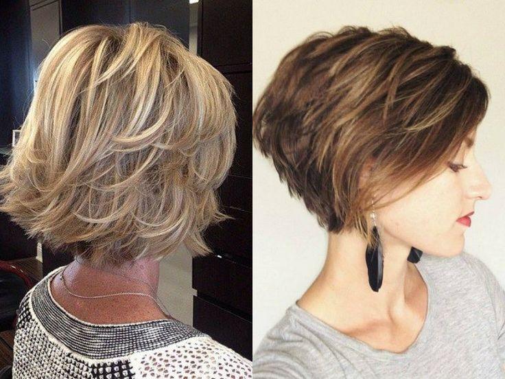 Layered Bob Haircuts Ideas For Thin Hair   Hairdrome.com