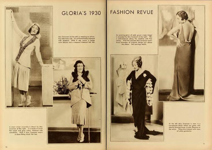 Gloria Swanson 1930 Fashion Revue pg. 2