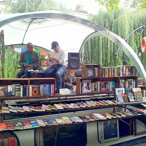 Bookshop on the water: Based near Paddington station, you can float merrily on this Dutch barge, while checking out their selection of second hand stock. They also host readings and live music on their roof stage. Delightful! | 19 Magical Bookshops Every Book Lover Must Visit