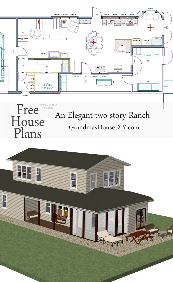 Free House Plan 90 best free house plans - grandma's house diy images on pinterest