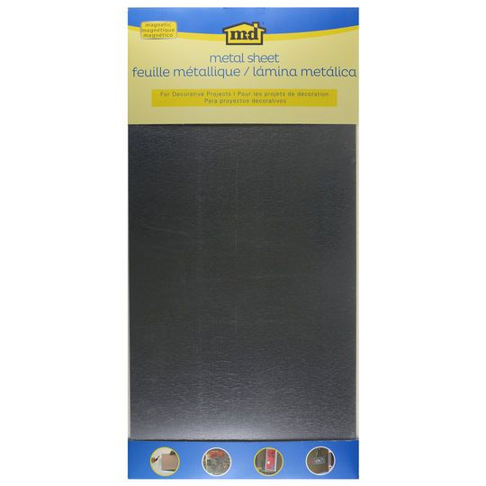 "MD® Hobby & Craft Magnetic Galvanized Steel Sheet, 12"" x 24"""