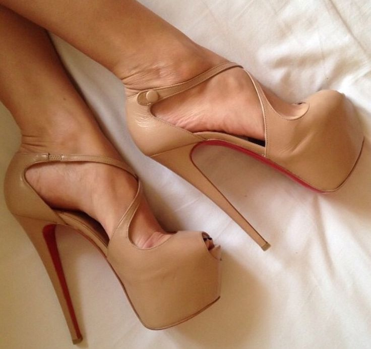 Christian Louboutin high heels. %100 real leather and there is no difference with the original ones. 360$ to order you place please contact us on e mail