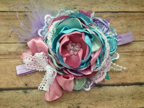 Candy Shoppe over the top headband couture by ChloeRoseCouture