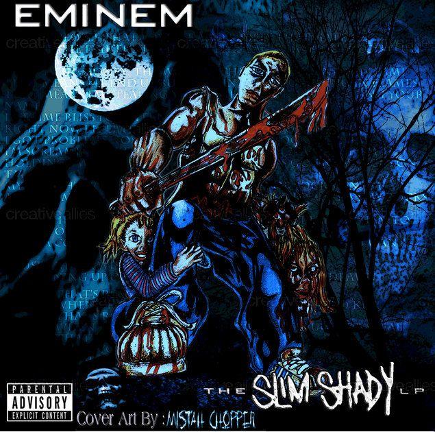 Eminem Album Cover by Mistah Chopper on CreativeAllies.com