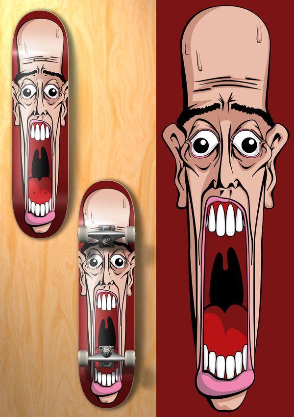 Cool Skateboard Design Ideas 530 Best Deck Design Images On Pinterest  Skateboard Design Deck .