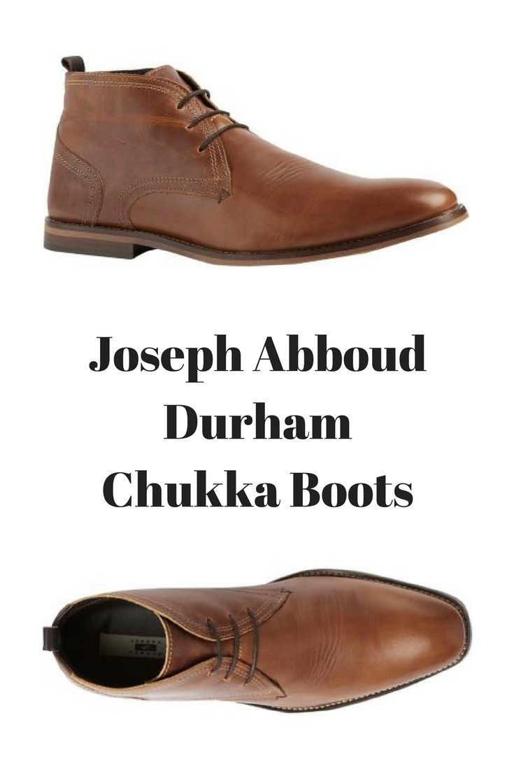 A casual-wear favorite, these chukka boots feature a soft leather upper,  three