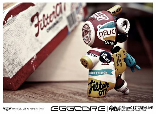 Filter017 X 909Toy SWEET EGGCORE by Filter017 , via Behance