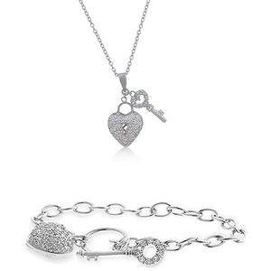 Conjunto Llave de tu Corazón - Valentina Salerno - Joyería  #colgante #corazón #joyas #joyería #sanvalentín #diadelosenamorados #conjunto  #valentinasalerno #pulsera #corazones #jewels #jewelry #bracelet #pendant  #heart #hearts #valentinesday #love #inlove #jewelry set