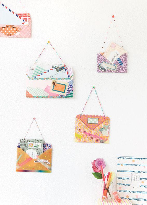 Hello Sandwich DIY enveloppes
