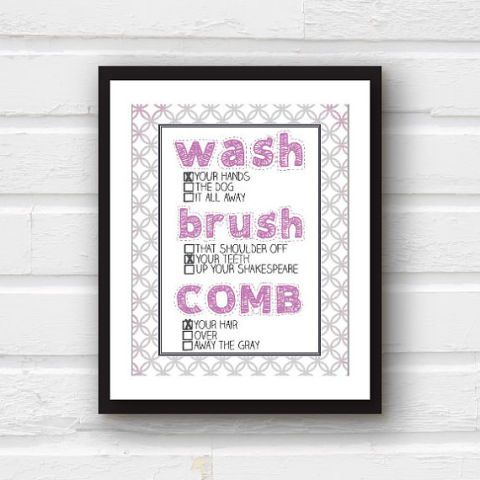 10 best things my mom said images on pinterest mom for Bathroom decor quiz