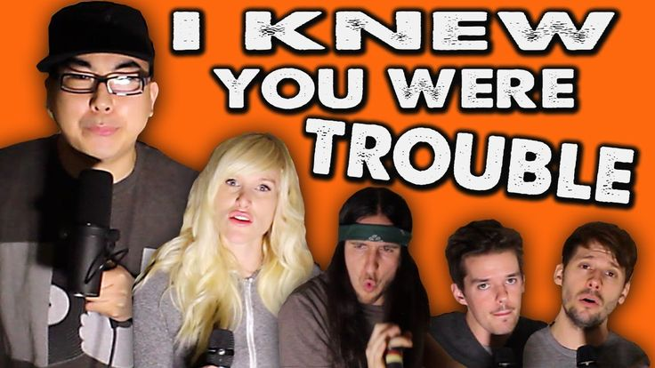 I Knew You Were Trouble - WALK OFF THE EARTH Feat. KRNFX, via YouTube.
