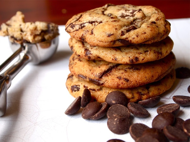 Triple Chocolate Chunk Cookies | C is for Cookie | Pinterest