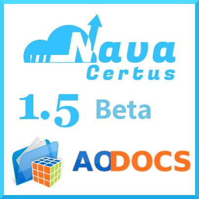Nava Certus supports migration to AODocs,  a document management solution for Google Apps. #googleapps #navacertus