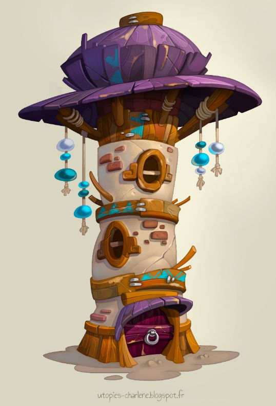 Tower house by Catell-Ruz on DeviantArt