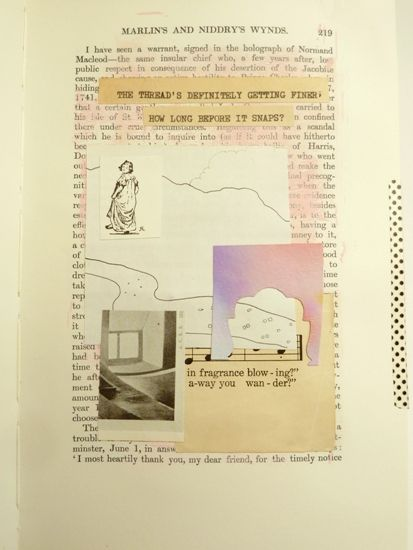 'Experimenting with abstract collage [while playing with your favourite papers!]: Part 6 of the collage adventure 'Fortune & Geese Favour the Bold' by Julie Kirk [click to visit the full post with lots more examples].
