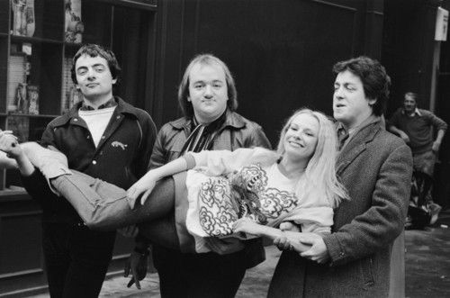 Rowan Atkinson, Mel Smith, Griff Rhys Jones & Pamela Stephenson