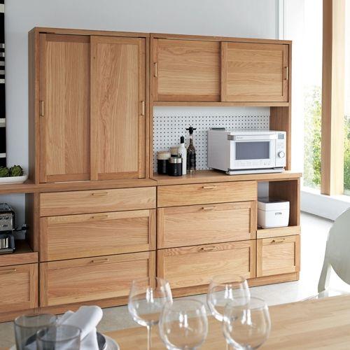 Cadreキッチン収納 キッチンボード 幅120.5cm 家具収納・インテリア雑貨専門 通販のハウススタイリング(house styling)
