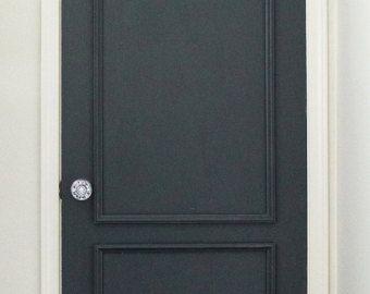 Brooklyn deux panneau appliqué porte moulage Kit ~ obtenir le look haut de gamme, sur mesure dans votre maison de Luxe Architectural