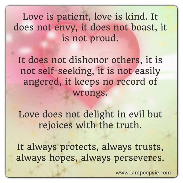 Love Is Patient Love Is Kind Quote: Pin By Shirlene Renshaw On Inspirations & Quotes