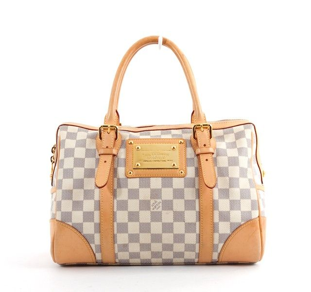 Louis vuitton handbags grey and white