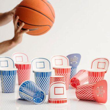 All-Star Beer Basket Cups