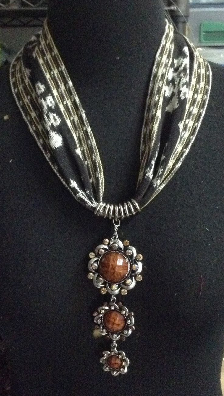 Ikat necklace