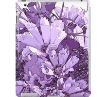 iPad Case/Skin - #Purplecosmos #artsycosmos #purpleflowers #sandrafoster