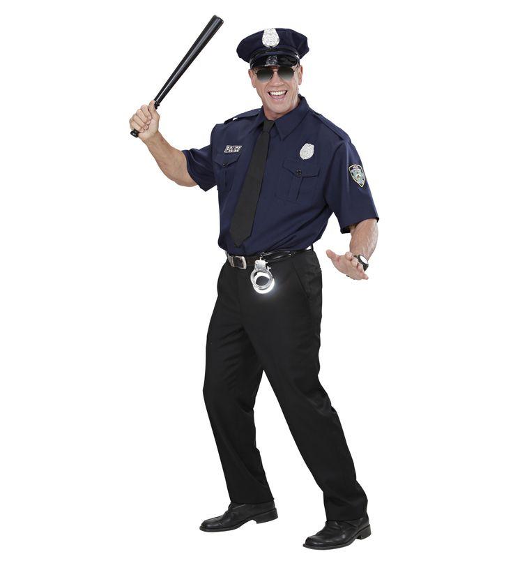 Set de policia - camisa, corbata, sombrero  Incluye: Camisa, corbata y sombrero  http://www.disfracessimon.com/complementos-disfraz/2675-set-policia-camisa-corbata-sombrero-p-2675.html