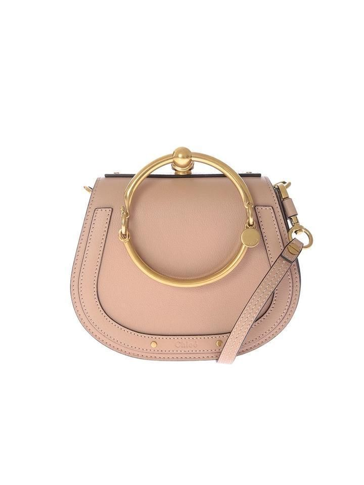 f6c62e3d70f4 Chloe Nile Small Bracelet Leather Cross Body Bag nude Runway  ad ...