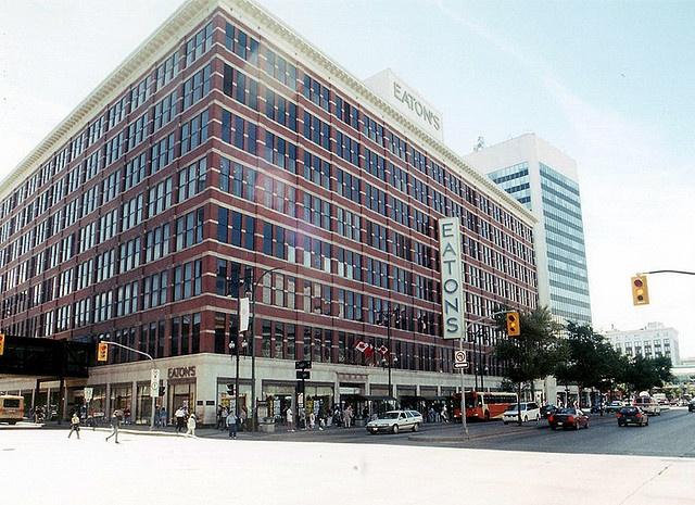 With nearly 900,000 square feet it was the second largest sized store in Canada and the only other store Timothy Eaton opened other than in Toronto, that was still in existence until its insolvency. The biggest loss to Downtown Winnipeg ever,especial furniture store toronto
