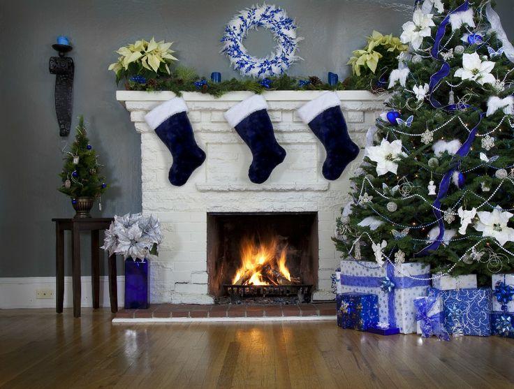 Kto powiedział, że  dekoracje świąteczne na gwiazdkę muszą być czerwone, złote lub zielone
