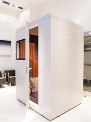 beautiful sound booth . STUDIOBRICKS | self-assembly cabin system