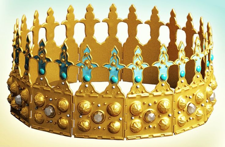 Reconstruction of the Ruthenian crown from 13th century, sometimes associated with the Lithuanian rulers, but most probably part of the so-called Ruthenian treasure inherited by Casimir the Great including, among others, insignia of Kievan Rus'