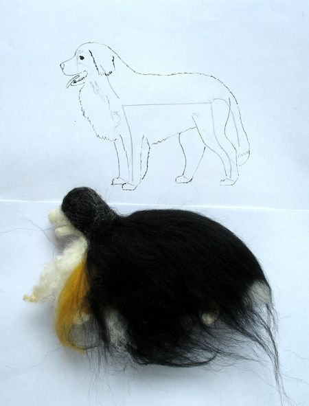 How to attach fur on dogs - Accessories Breyer Crafting