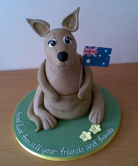 Kangaroo Cake