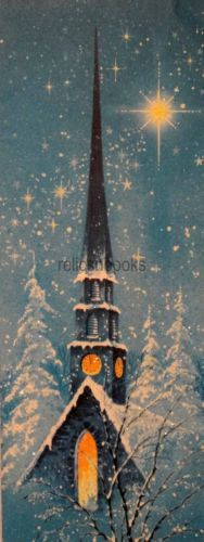 1256-60s-Glittered-Church-Steeple-Vintage-Christmas-Card-Greeting