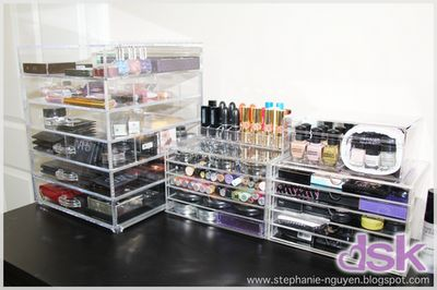 In 'LOVE' with the clear storage organization!!! (img taken off Google)