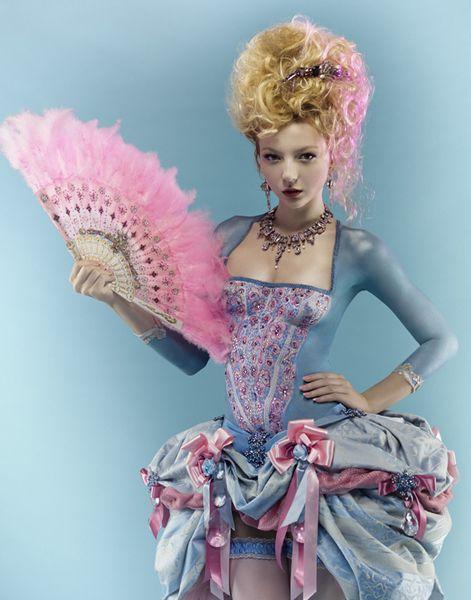 Marie Antoinette Inspired