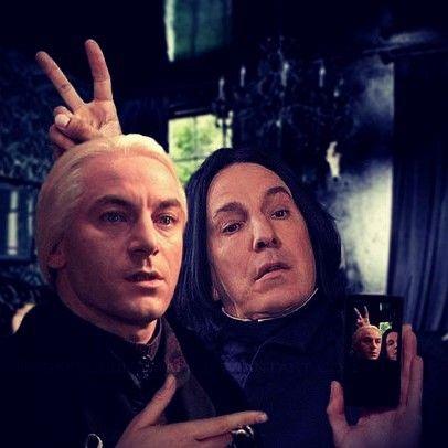 "8,245 Likes, 378 Comments - Professor Snape (@snapegram) on Instagram: ""Selfie Time."""