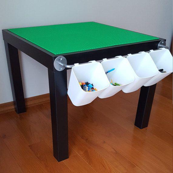 die 25 besten ideen zu lego tisch auf pinterest lego aufbewarung lego kinderzimmer und lego. Black Bedroom Furniture Sets. Home Design Ideas