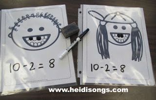 Loose Tooth Subtraction!   Heidi Songs