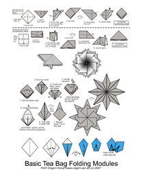 81 mejores imágenes de Diagramas Estrellas origami en